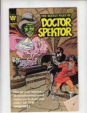 OCCULT FILES of DOCTOR SPEKTOR #25 1973   WHITMAN COMICS