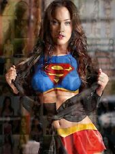 MEGAN FOX photo mosaic size A3 poster with a lot of sexy pics cm. 31x41 SUPERMAN