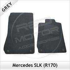 Tailored Carpet Floor Mats for MERCEDES SLK R170 1996-2004 GREY