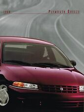 1999 Plymouth BREEZE Brochure w/Color Chart: ESPRESSO