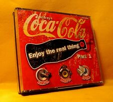 CD Coca-Cola Enjoy The Real Thing (CD + CD-ROM + BOOK) 20TR 1999 Pop House Dance
