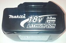 New Genuine Makita Battery BL1830 3.0 AH 18 Volt For Drill, Saw, Grinder 18V