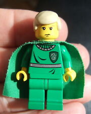 *LEGO HARRY POTTER: DRACO MALFOY WITH CAPE SLYTHERIN QUIDDITCH HP020 Year 2