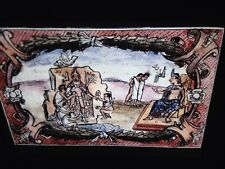 "Diego Duran ""history Of The Indies 1570"" Mexican Art 35mm Glass Slide"