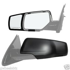 2015-2016 CHEVY SUBURBAN/ TAHOE CLIP SNAP ON & ZAP TOWING SIDE MIRROR EXTENSION