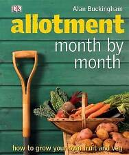 Allotment Month by Month by Alan Buckingham (Hardback, 2009)