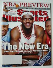 Sports Illustrated 10/23/06 Issue LEBRON JAMES Cleveland Cavaliers The Q MINT