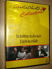 DVD UN PROBLEMA IN ALTO MARE IL FURTO INCREDIBILE AGATHA CHRISTIE COLLECTION