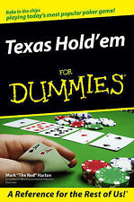 Texas Hold'em For Dummies by Mark Harlan (Paperback, 2006)