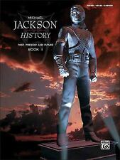 Michael Jackson: History Past Present & Future Book 1 Piano/Vocal/Chords