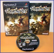 Ghosthunter - PS2 Playstation 2 Game Rare COMPLETE Namco Ghost Hunter