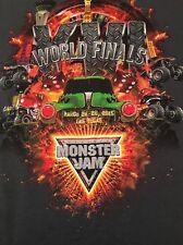 MONSTER JAM XVI WORLD FINALS LAS VEGAS 2015  T SHIRT