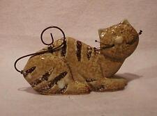 ♥ Süsse Deko Keramik Katze ♥ getigert ♥