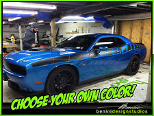 Dodge Challenger RT SRT STRIPES DECAL 2007 2008 2009 2010 2011 2012 13 14 2015
