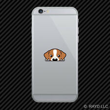 Jack Russell Terrier Cell Phone Sticker Mobile Die Cut