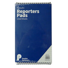 Reporters Notebooks - Pack of 3 - 120 Pages - Size 205mm x 126mm