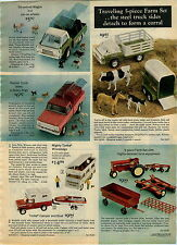 1974 ADVERTISEMENT Tonka Winnebago Camper Boat Remote Plane Copter Steel Kennel