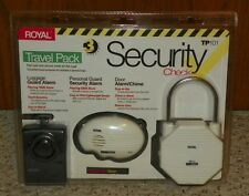 Royal Security Check TP101 - Travel Pack - Personal & Luggage Guard + Door Alarm