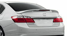 PAINTED REAR WING SPOILER FOR A HONDA ACCORD 4-DOOR FACTORY STYLE 2013-2017