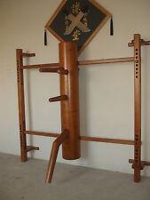 Wing Tsun, Wing Chun, correspondía Tsun muñecos de madera (Dummy Wooden, Muk Yan Jong)