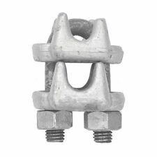 "Piggy-Back Wedge Socket Rope Clips - 7/8"" forged piggy backwedge socket wire ..."
