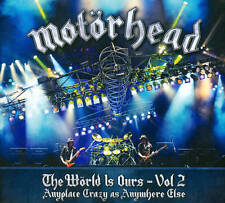 Motorhead: The World Is Ours, Vol. 2 - Anyplace Crazy As Anywhere Else New Blu-r