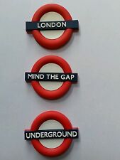 3X3D LONDON TFL SIGNS LONDON UNDERGROUND MIND THE GAP FRIDGE MAGNET SOUVENIR