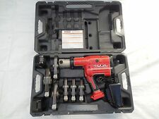 Ridgid Propress RP330 RP 330 Hydraulic Battery Operated Crimper & 6 JAWS