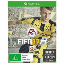 FIFA 17 XBOX ONE Genuine 100% Australia Version NEW