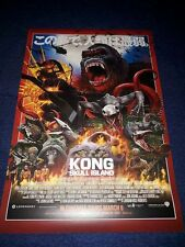 "KONG: SKULL ISLAND Official Cinema IMEX Large 11"" x 16"" Film Art Poster 2017 NEW"