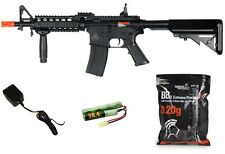 Lancer Tactical M4 CQBR AEG Metal Gears CM16 Raider w/ BATTERY & CHARGER
