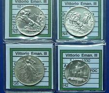 Collezione monete Regno d' Italia ( 1861 - 1943 ) BB  SPL FDC