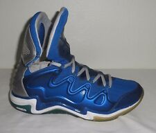 Under Armour Charge BB Micro G High Top Basketball Shoes Blue / Gray Size 12