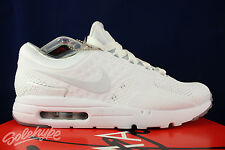 NIKE AIR MAX ZERO NIKELAB TIER 0 LAB WHITE PURE PLATINUM 789695 102 SIZE 12