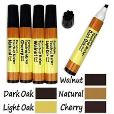5-Color Wood Floor Furniture & Woodwork Scratch Touch-Up Pens by Industrial Tool