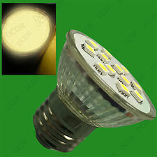 2x 3W ES E27 Epistar SMD 5050 LED Spot Light Bulbs 2700K Warm White Lamps