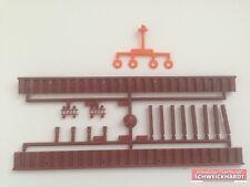 Kibri H0 Kit De Montage 4100-14 2 Bordures De Mur D'appui,4 Bouées De Sauvetage,