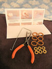 Doll Restringing Kit: Color Photo Instructions,Tools &bands for 6  dolls