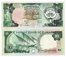 KUWAIT 10 DINARS 1980 UNC P 15 c