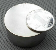 N52 Diameter 40mm x 20mm Round Neodymium Permanent Cylinder Magnets D40 x 20 mm
