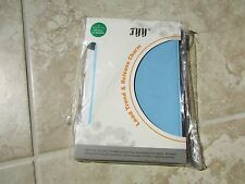 FYY HP SLATE S7-4200us Stand Folio Tablet Book Cover Case LT. BLUE