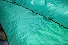 """NYLON EMERALD GREEN UNCOATED FABRIC MATERIAL 60"""" V.CHEAP x 10 METRE"""