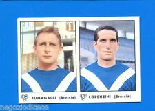 # CALCIATORI PANINI 1964-65 - Figurina-Sticker -FUMAGALLI-LORENZINI BRESCIA-Rec