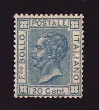 1867 REGNO D'ITALIA 20 CENT. DE LA RUE L26a ** CENTRATO RARITA'