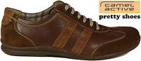 CAMEL ACTIVE Schuhe Halbschuhe Schnürer Braun echt Leder NEU