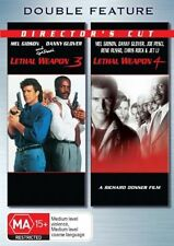Lethal Weapon 3 & 4 (DVD, 2006, 2-Disc Set) Region 4 Disc
