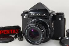 Exc++++ PENTAX 67 with SMC 90mm f2.8 Lens Camera Bag Strap from Japan a093