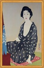 Natsugoromo no onna, Woman in a Summer Garment Goyo Hashiguchi Frauen B A2 02140