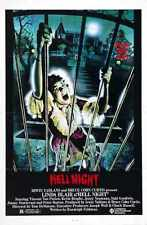 Hell Night Poster 01 Metal Sign A4 12x8 Aluminium