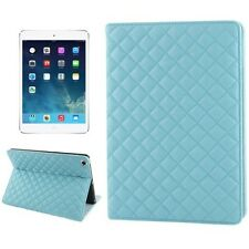 Funda Plegable/Bolsa de Tablet zu Apple iPad Air - RHOMB Azul Bebé protectora